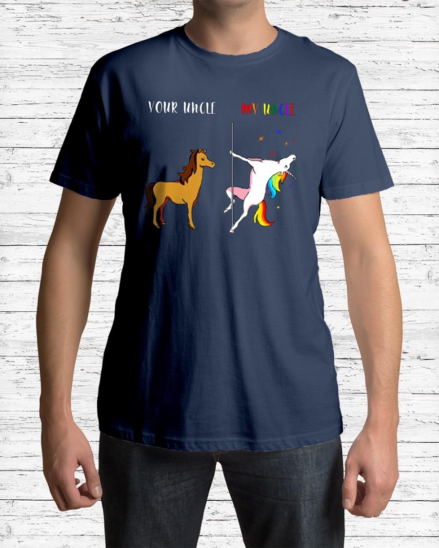 Your Uncle My Uncle Unicorn LGBT shirt
