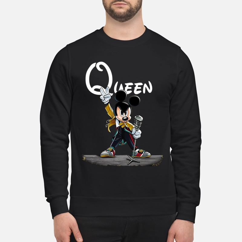 Freddie Mercury Queen Mickey mouse shirt