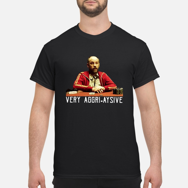 Rounders Teddy KGB very Aggri Aysive shirt
