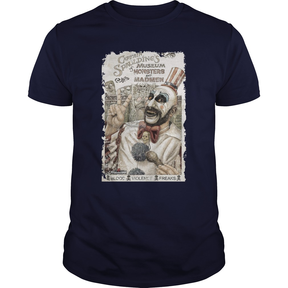 Captain Spaulding's Museum of Monsters and Madmen shirt