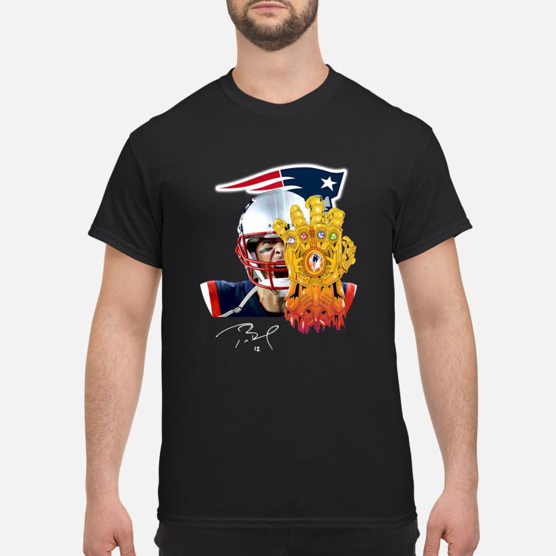 Patriots Tom Brady Thanos shirt
