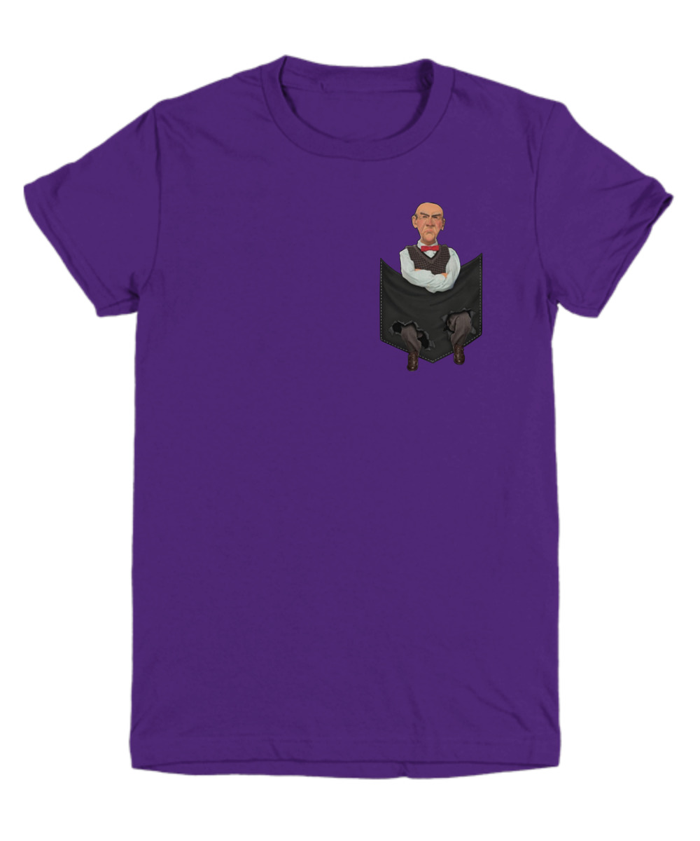 Jeff Dunham Walter Pocket shirt