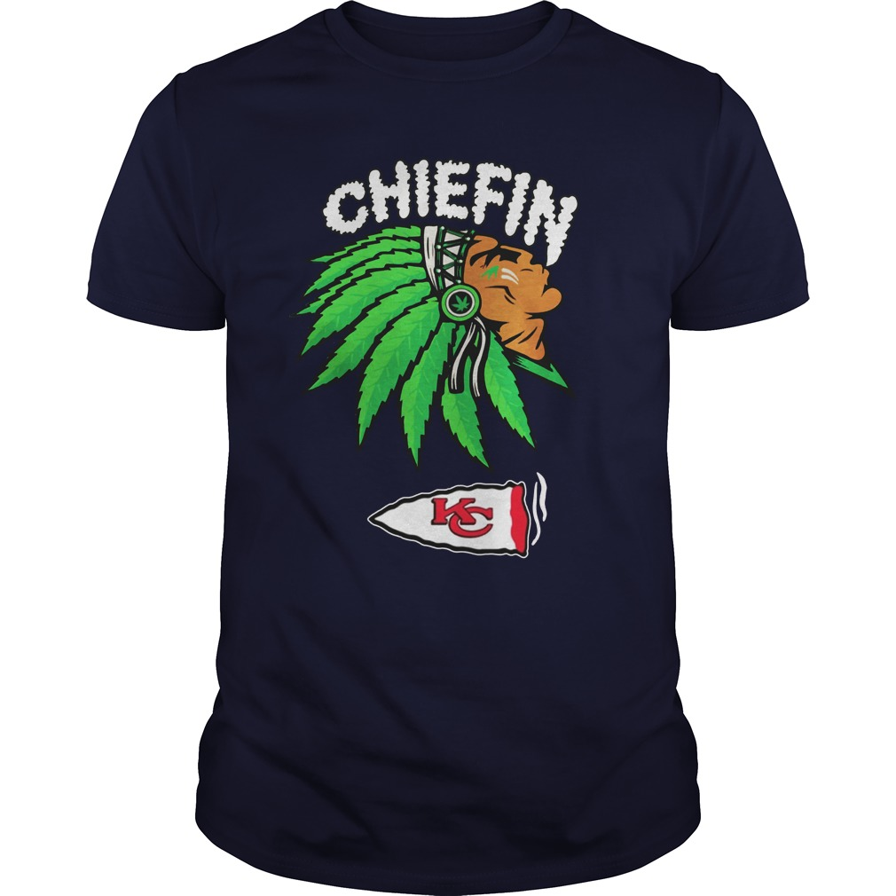 Kansas City Chiefs chiefin Weed Smoke shirt