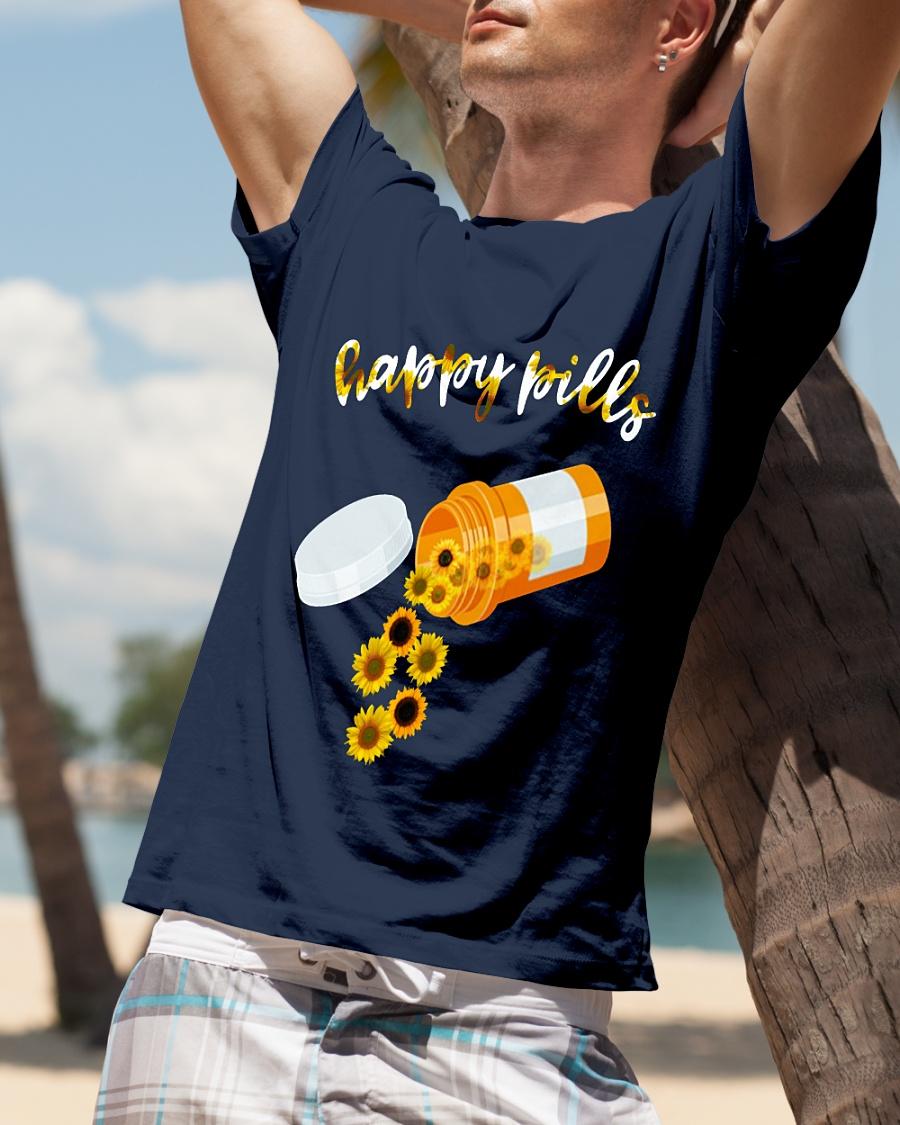 Sunflower Happy Pills shirt