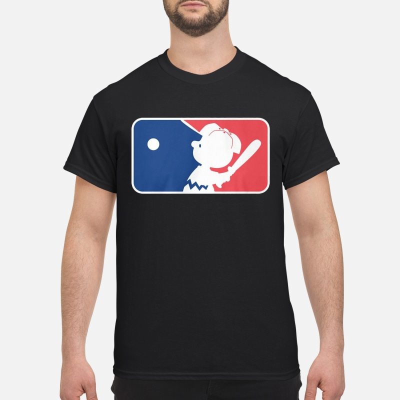 Charlie brown baseball league shirt