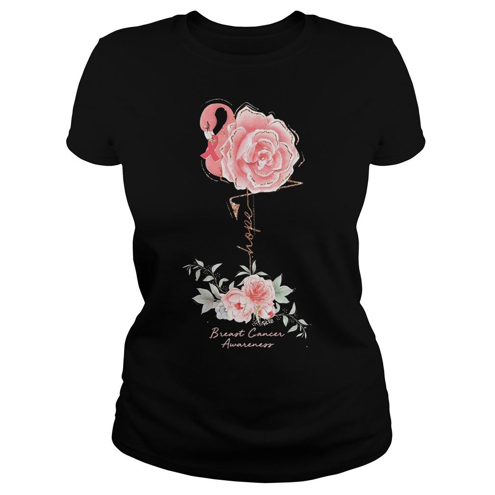 Rose Breast Cancer Awareness Shirt