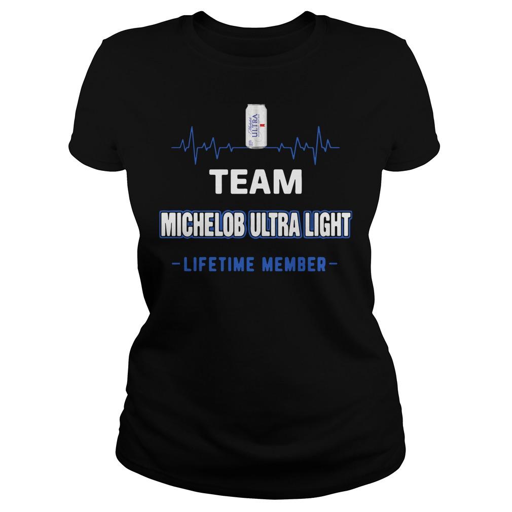 Team Michelob Ultra Light Lifetime Member Shirt
