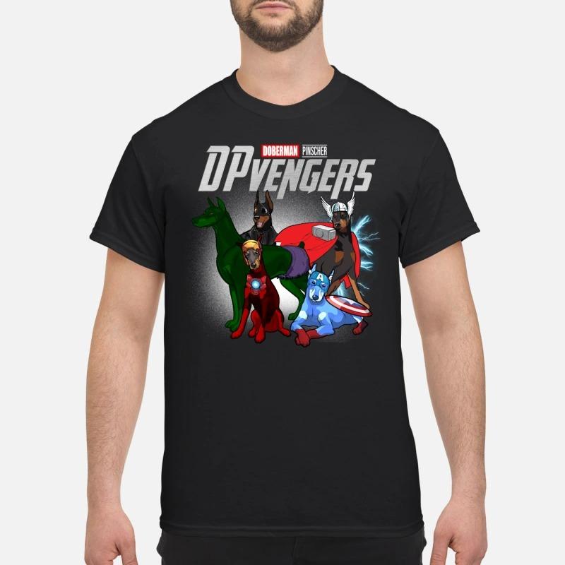 Marvel Avenger Endgame Doberman pinscher DP vengers Avengers shirt