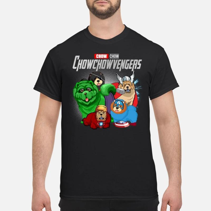 Marvel Avenger Endgame chow vengers Avengers shirt