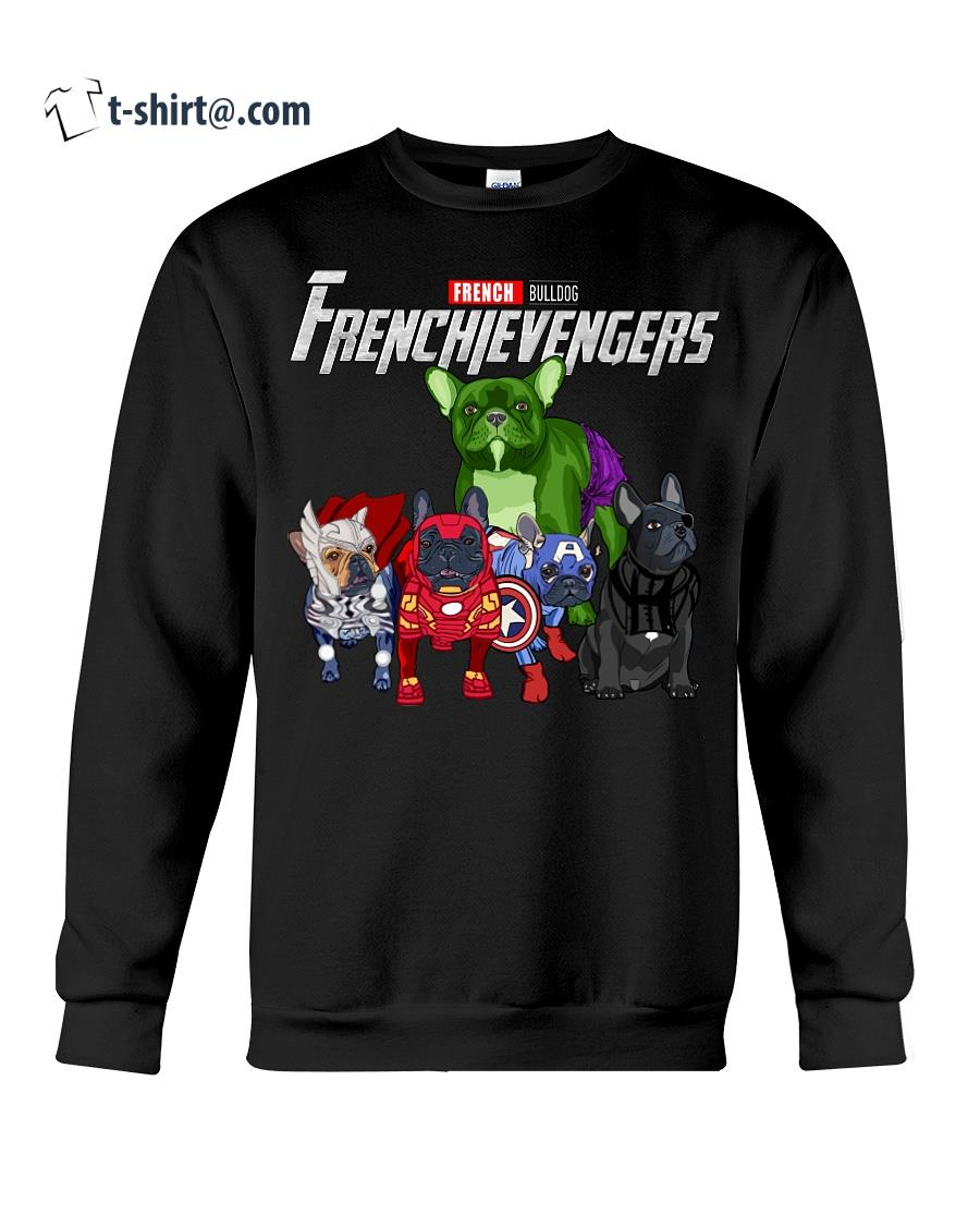Marvel Avengers Endgame French bulldog Frenchie Avengers shirt