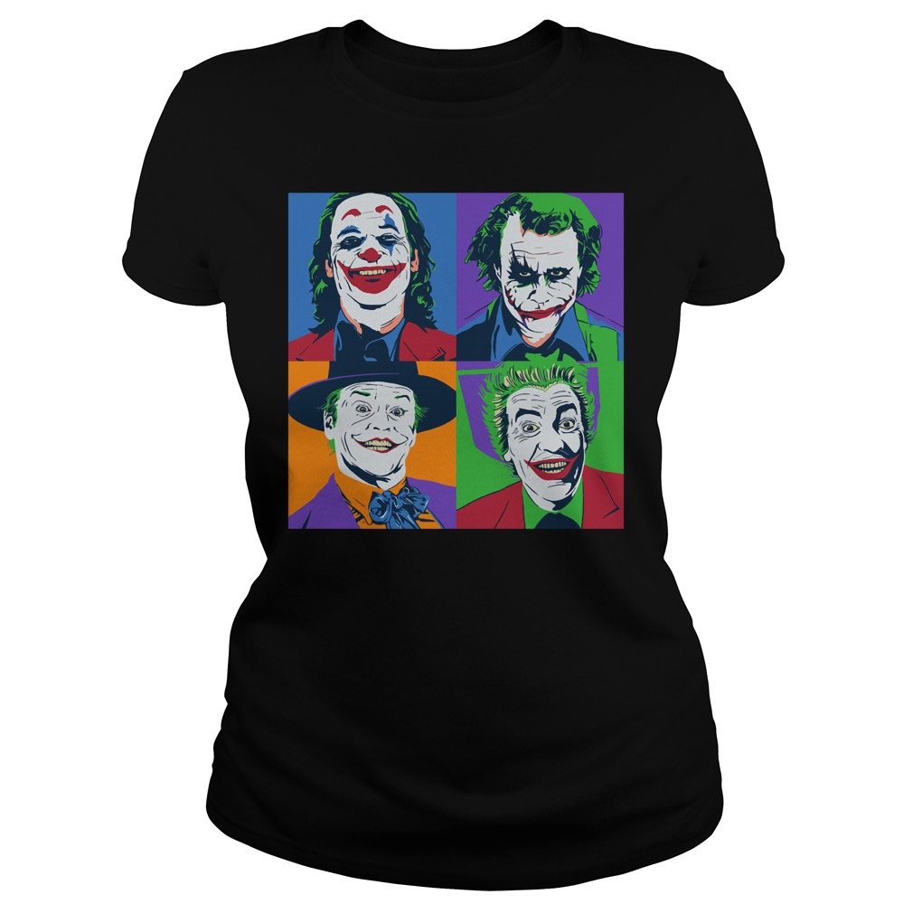 Official Joker Pop Art Joker Pop Art Shirt