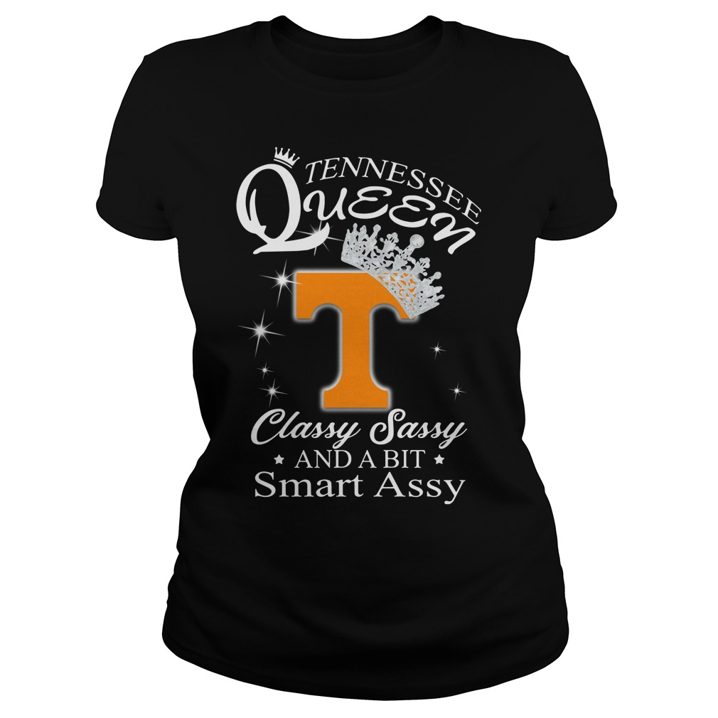 Tennessee Queen Classy Sassy And A Bit Smart Assy Shirt