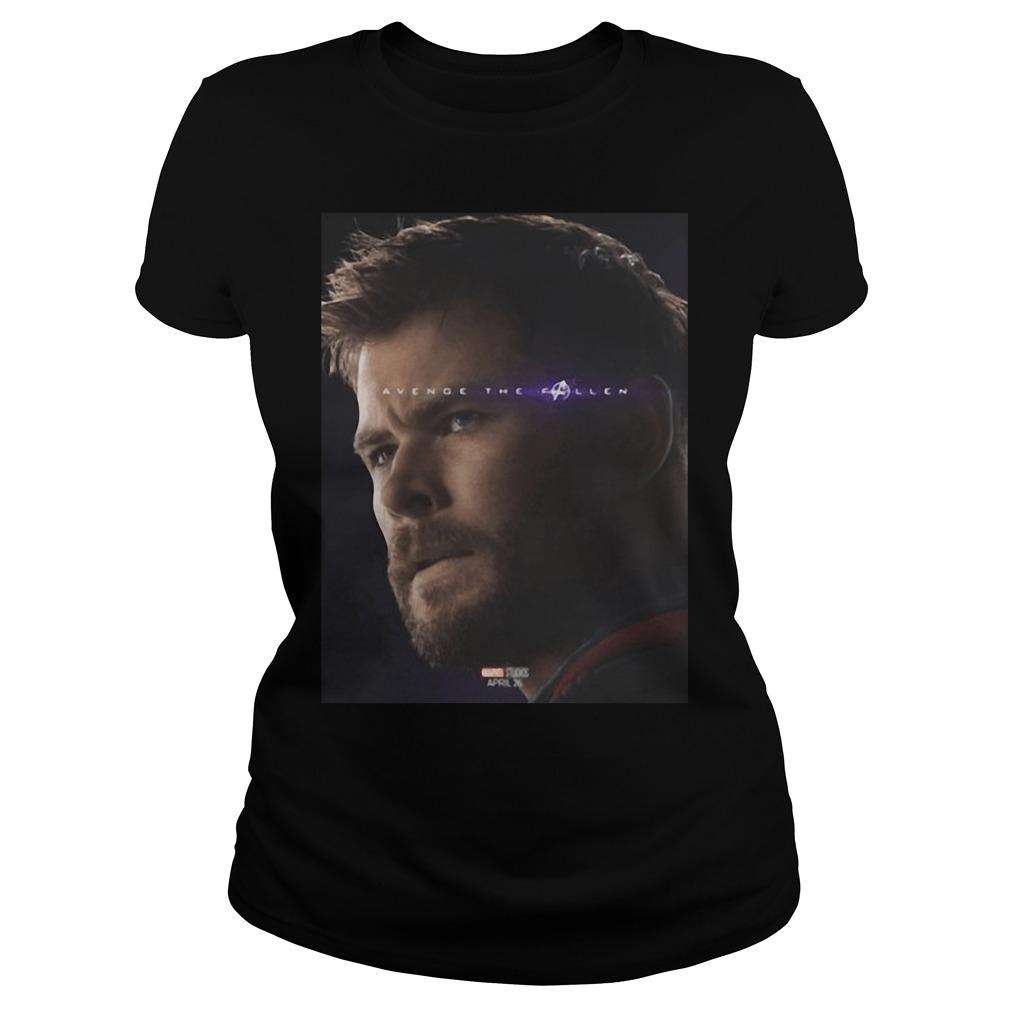 Thor The Fallen- Avengers End Game Marvel Shirt
