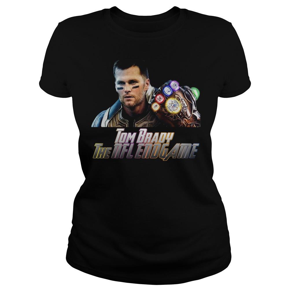 Tom Brady Patriot The Nfl Avengers Endgame Shirt