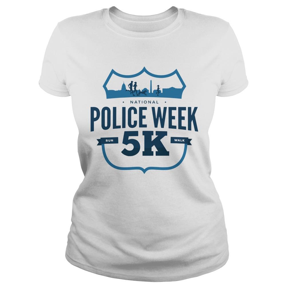2019 National Police Week 5kShirt