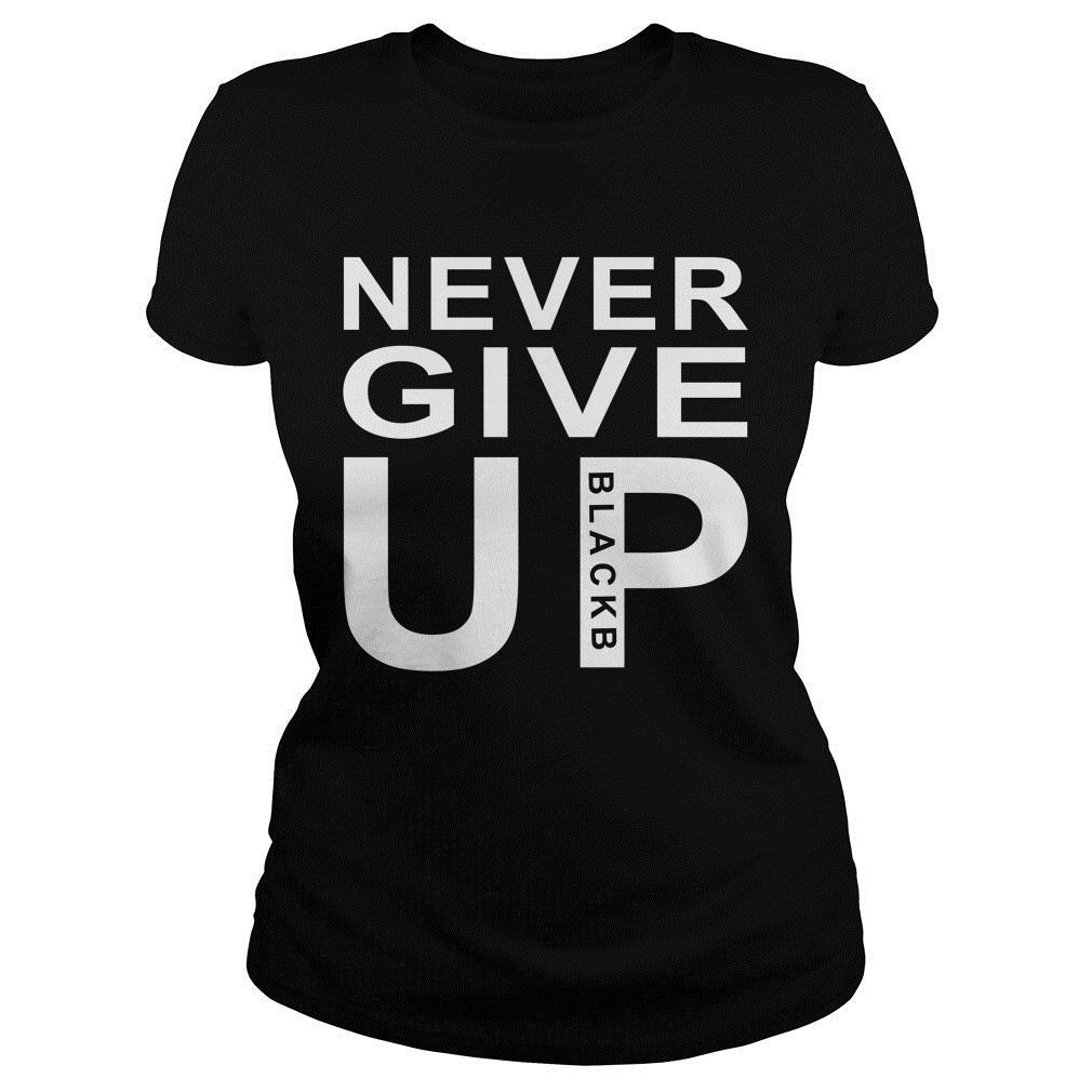 Never Give Up BlackShirt