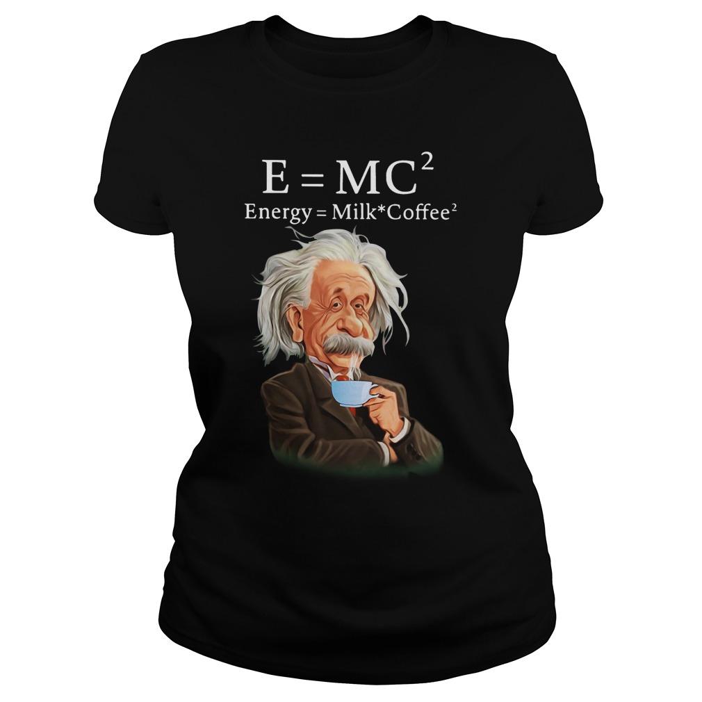 Albert Einstein Milk CoffeeShirt