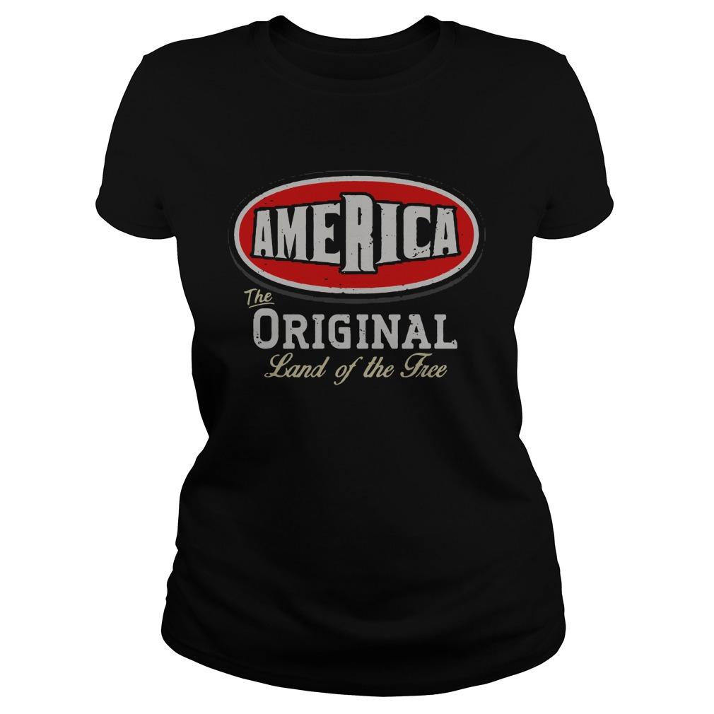 America The Of The TreeShirt