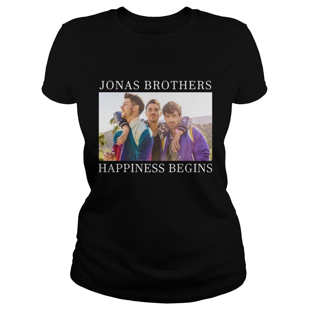 Jonas Brothers Happiness BeginsShirt