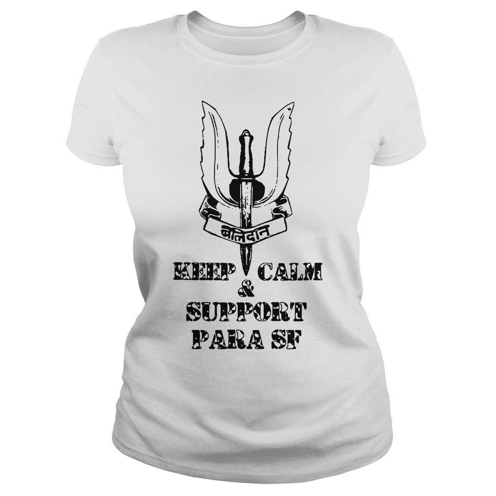 Keep calm and support Para SF shirt