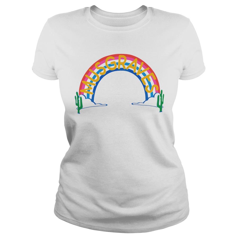 Official Rainbow Ringer Musgraves Shirt