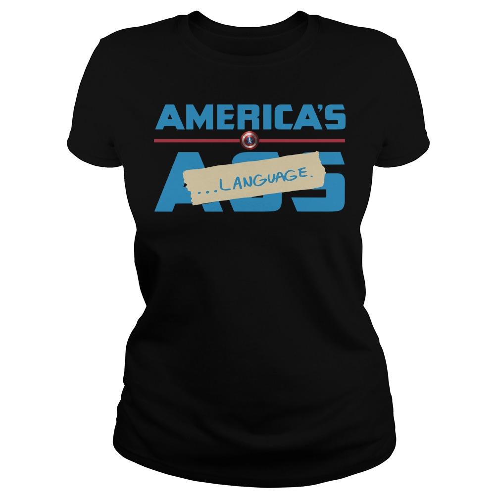 America's Ass LanguageShirt