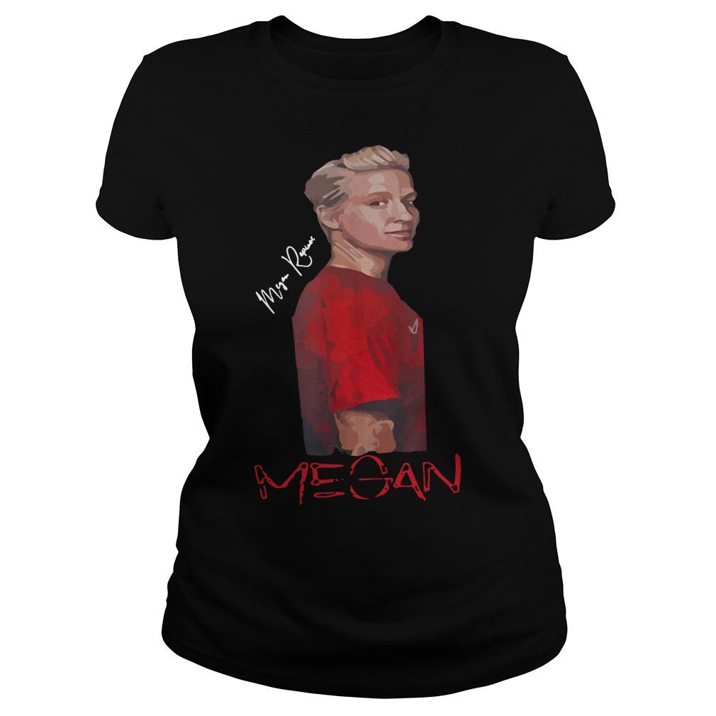 Megan Rapinoe Tee Shirt Women USA Soccer Team 2019Shirt