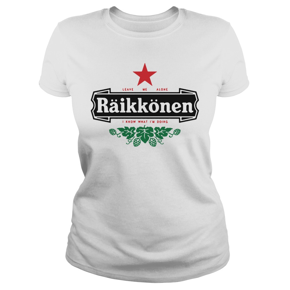 White Raikkonen Shirt