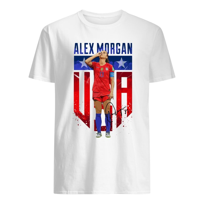 ALEX MORGAN SIPPING TEA WORLD CUP US TEAM SHIRT