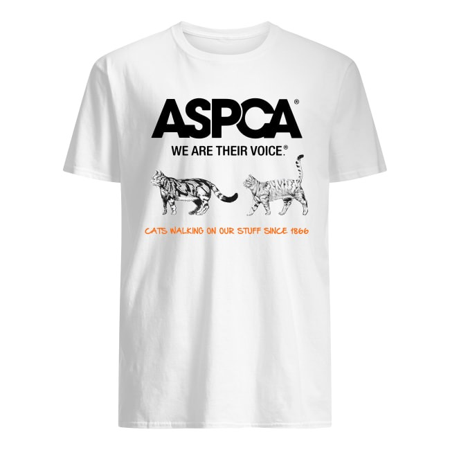 ASPCA CATS WALKING ON OUR STUFF T-SHIRT