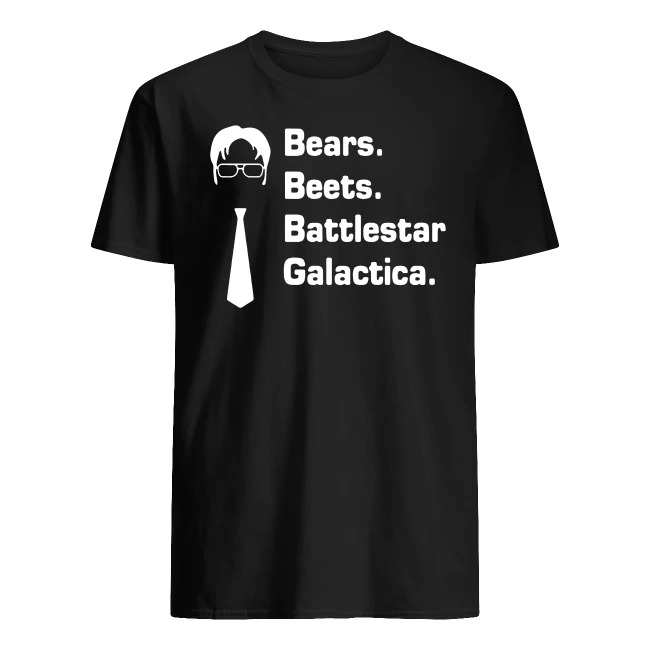 BEARS BEETS BATTLESTAR GALACTICA THE OFFICE SHIRT