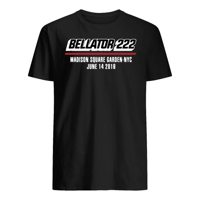 BELLATOR 222 MADISON SQUARE GARDEN NYC JUNE 14 2019 SHIRT