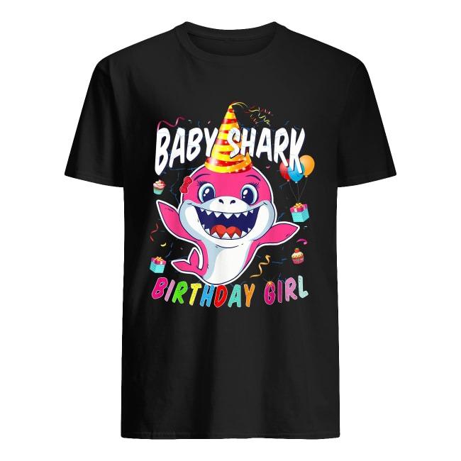 BIRTHDAY GIRL BABY SHARK SHIRT