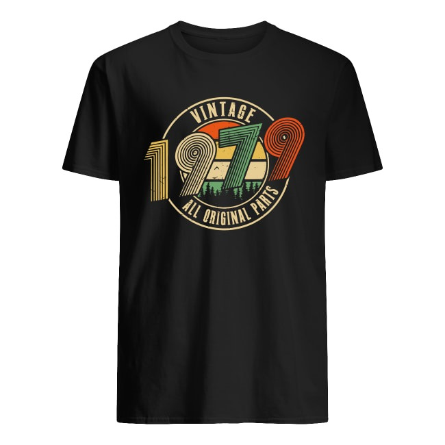 HAPPY 40TH BIRTHDAY WITH RETRO VINTAGE 1979 SHIRT