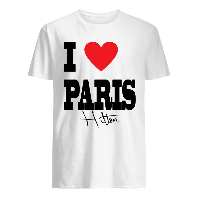 I LOVE PARIS HILTON SHIRT