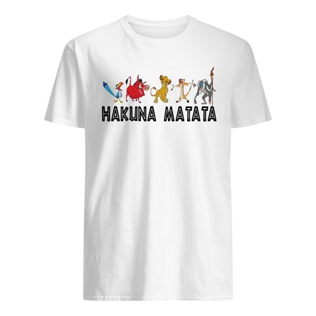 LION KING HAKUNA MATATA T SHIRT