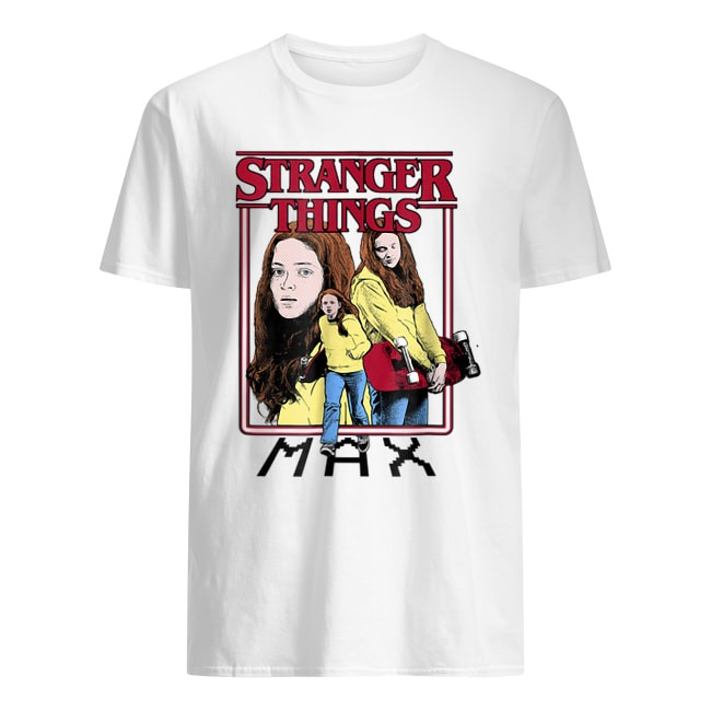 NETFLIX STRANGER THINGS MAX SHIRT