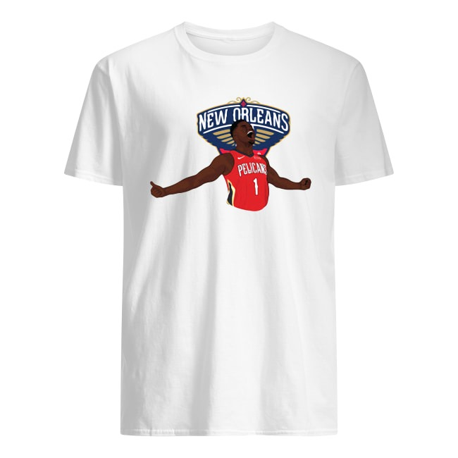 NEW ORLEANS PELICANS ADIDAS NBA FULL PRIMARY LOGO SHIRT