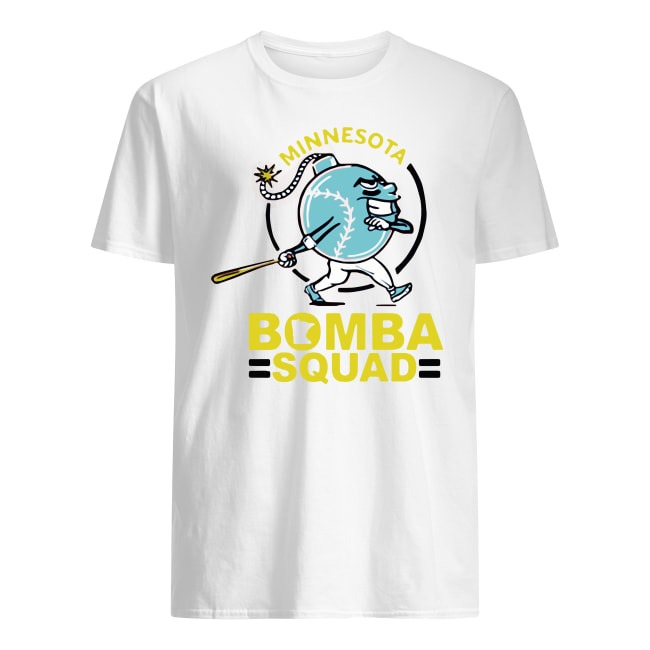 OFFICIAL MINNESOTA BOMBA SQUAD TWINS T SHIRT