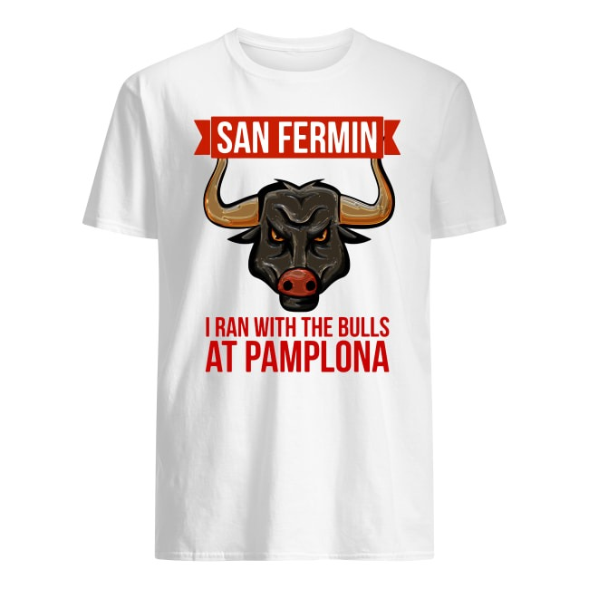 SAN FERMIN BULL RUN FESTIVAL OF SPAIN JULY 2019 PAMPLONA SHIRT