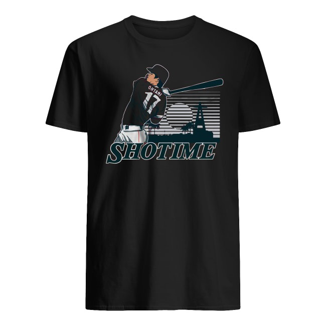 SHOHEI OHTANI MLB LOS ANGELES SHOTIME SHIRT