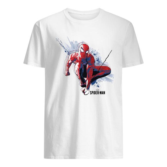 SWINGING SPIDER-MAN SHIRT