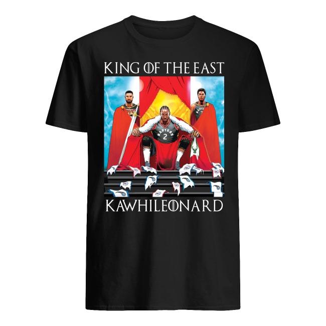 TORONTO RAPTORS KING OF THE EAST KAWHI LEONARD SHIRT