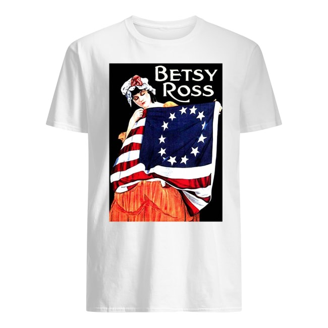 USA BETSY ROSS AMERICAN FLAG SHIRT