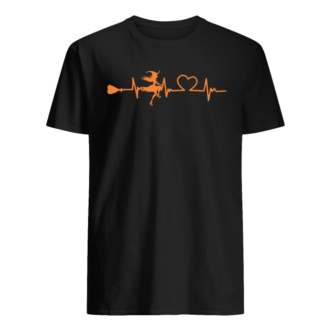 WITCH HEARTBEAT HALLOWEEN SHIRT
