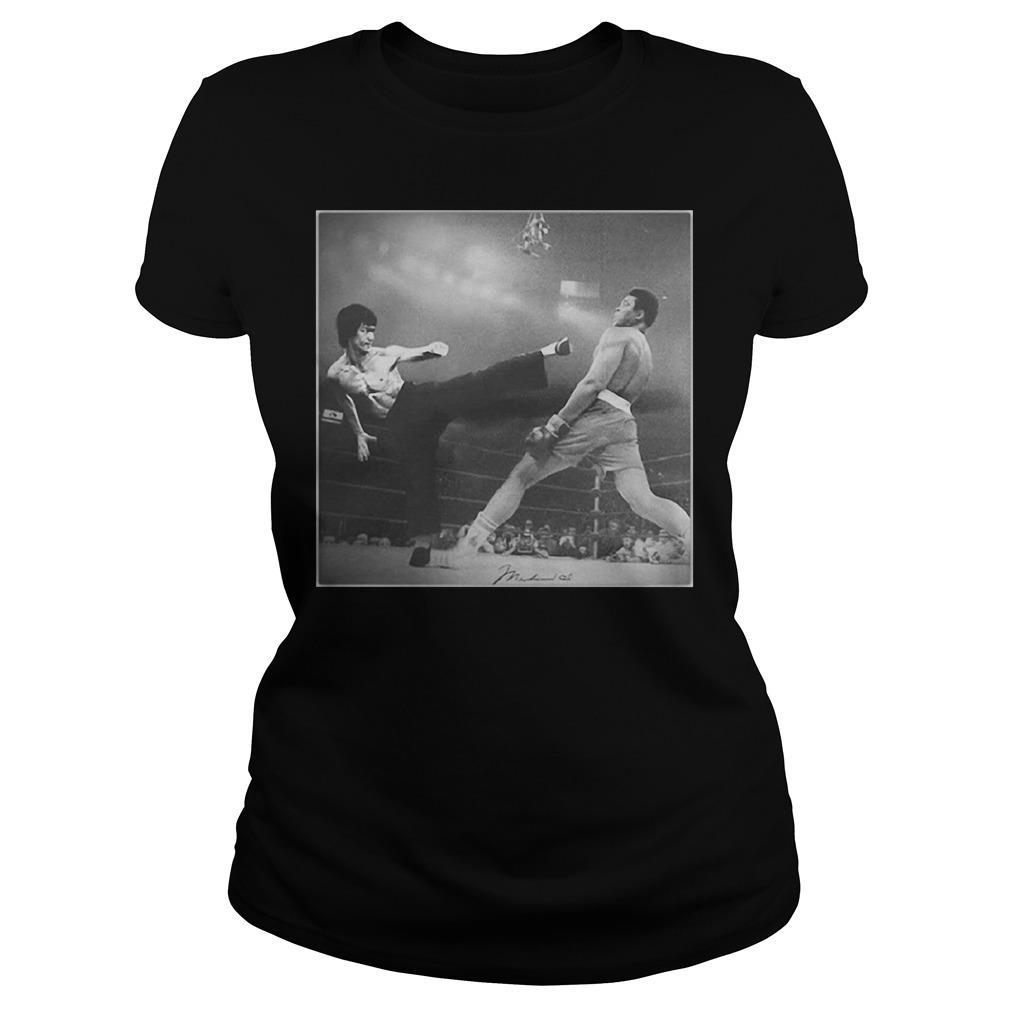 Bruce Lee Vs Muhammad AliShirt