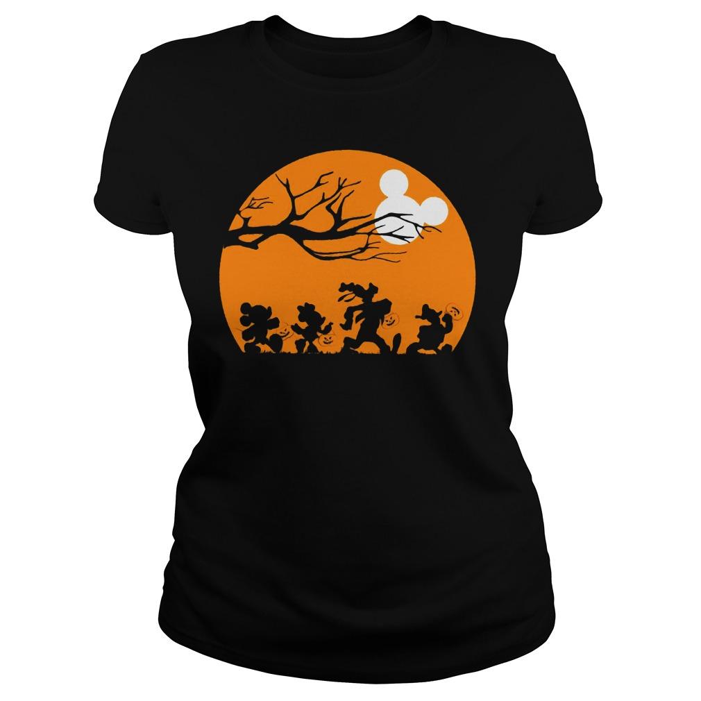 Disney Halloween Theme MickeyShirt