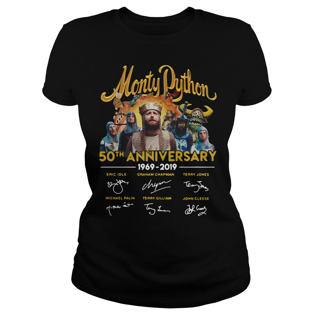 Monty Python 50th Anniversary 1969 2019 Signature Shirt