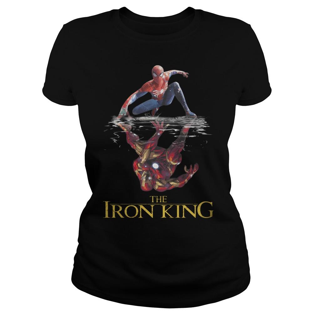 The Iron King Spider-Man Reflection Iron ManShirt