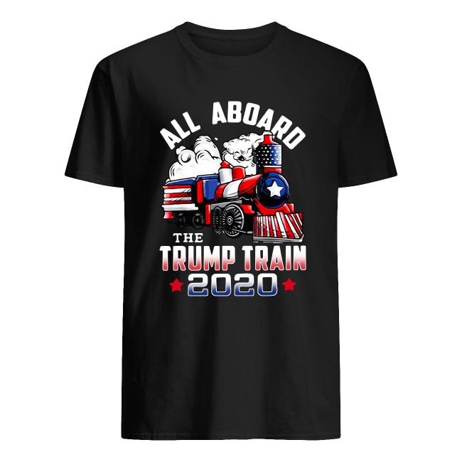 ALL ABOARD THE TRUMP TRAIN TRUMP 2020 SHIRT